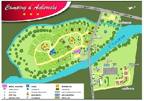 logo camping d'Auberoche 3*